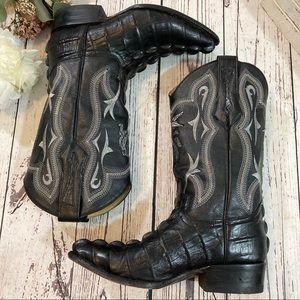 Joe boots by Arles gator western cowboy boots